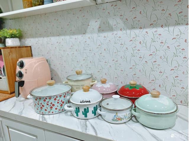 Căn bếp vừa gọn vừa xinh sau khi cải tạo với chi phí 2,6 triệu đồng của cô gái Hà Nội - Ảnh 18.