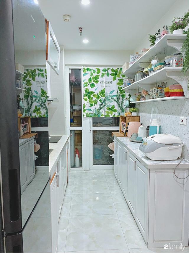 Căn bếp vừa gọn vừa xinh sau khi cải tạo với chi phí 2,6 triệu đồng của cô gái Hà Nội - Ảnh 3.