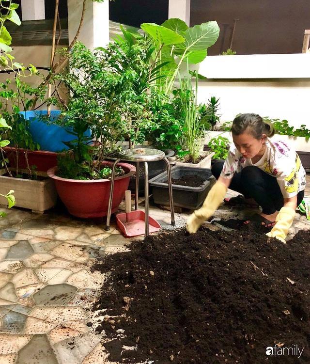 Giàn dưa chuột khủng thu hoạch gần 50kg suốt vụ và kinh nghiệm ít ai biết của mẹ đảm Sài Gòn - Ảnh 6.