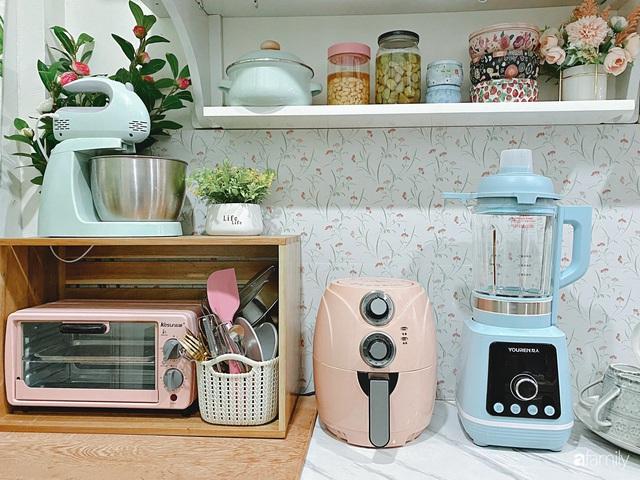 Căn bếp vừa gọn vừa xinh sau khi cải tạo với chi phí 2,6 triệu đồng của cô gái Hà Nội - Ảnh 9.