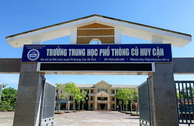 Thí sinh ở Hà Tĩnh tăng 22,5 điểm sau khi phúc khảo - Ảnh 1.