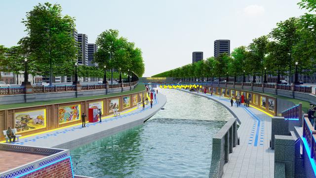 """Thực hư sông Tô Lịch sẽ trở thành """"Công viên Lịch sử -Văn hoá- Tâm linh Tô Lịch"""" bằng nguồn vốn từ Nhật Bản - Ảnh 2."""