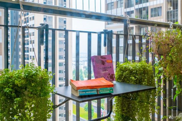 Căn hộ 54m² đẹp cuốn hút với gam màu xanh gần gũi với thiên nhiên có chi phí hoàn thiện nội thất 150 triệu đồng ở Hà Nội - Ảnh 12.