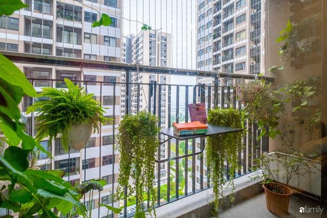 Căn hộ 54m² đẹp cuốn hút với gam màu xanh gần gũi với thiên nhiên có chi phí hoàn thiện nội thất 150 triệu đồng ở Hà Nội - Ảnh 13.