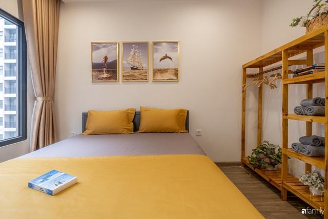 Căn hộ 54m² đẹp cuốn hút với gam màu xanh gần gũi với thiên nhiên có chi phí hoàn thiện nội thất 150 triệu đồng ở Hà Nội - Ảnh 15.