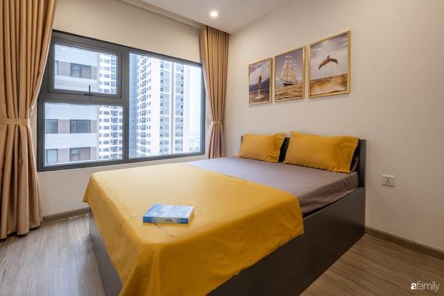 Căn hộ 54m² đẹp cuốn hút với gam màu xanh gần gũi với thiên nhiên có chi phí hoàn thiện nội thất 150 triệu đồng ở Hà Nội - Ảnh 16.