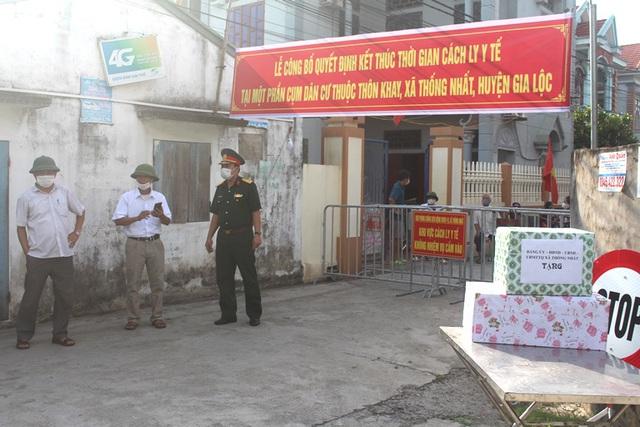 Hình ảnh đẹp tại khu dân cư cuối cùng tỉnh Hải Dương được dỡ bỏ phong tỏa, cách ly  - Ảnh 9.