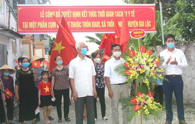 Hình ảnh đẹp tại khu dân cư cuối cùng tỉnh Hải Dương được dỡ bỏ phong tỏa, cách ly  - Ảnh 17.