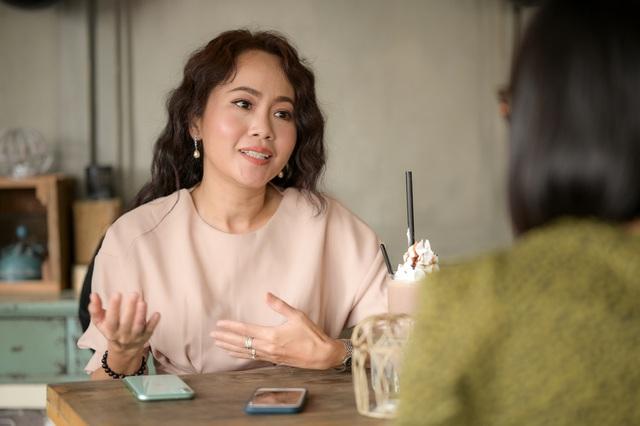 Diễn viên Kim Huyền Cát đỏ: Thích đàn ông có con riêng - Ảnh 2.