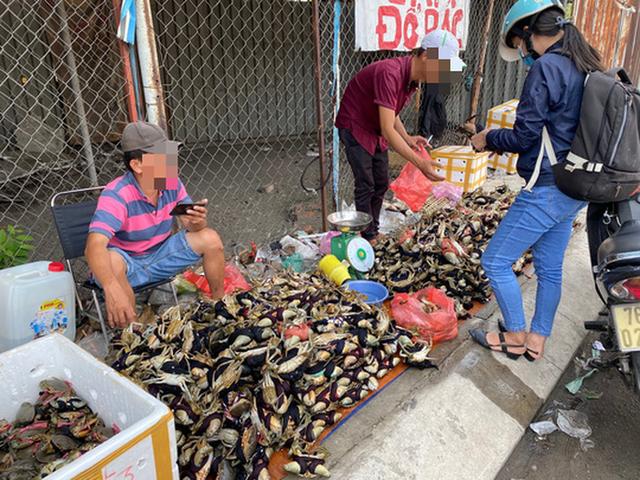 Thực hư cua Cà Mau 50.000 đồng/3 con bán đầy đường, bao ăn - Ảnh 3.