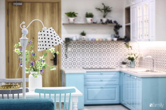 Căn hộ 71m² đẹp nhẹ nhàng, xinh yêu với màu xanh bạc hà có chi phí hoàn thiện 200 triệu đồng ở Sài Gòn - Ảnh 15.