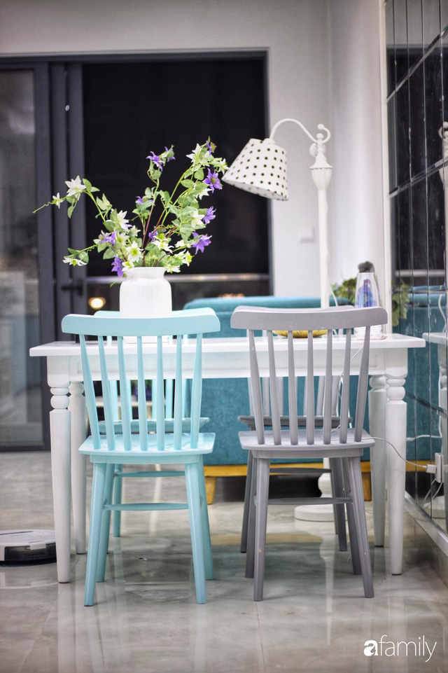 Căn hộ 71m² đẹp nhẹ nhàng, xinh yêu với màu xanh bạc hà có chi phí hoàn thiện 200 triệu đồng ở Sài Gòn - Ảnh 16.