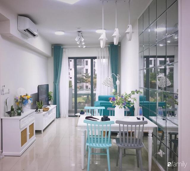 Căn hộ 71m² đẹp nhẹ nhàng, xinh yêu với màu xanh bạc hà có chi phí hoàn thiện 200 triệu đồng ở Sài Gòn - Ảnh 19.
