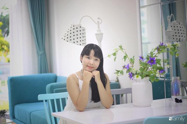 Căn hộ 71m² đẹp nhẹ nhàng, xinh yêu với màu xanh bạc hà có chi phí hoàn thiện 200 triệu đồng ở Sài Gòn - Ảnh 3.