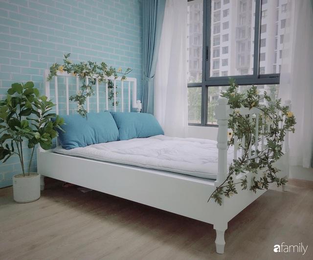 Căn hộ 71m² đẹp nhẹ nhàng, xinh yêu với màu xanh bạc hà có chi phí hoàn thiện 200 triệu đồng ở Sài Gòn - Ảnh 23.