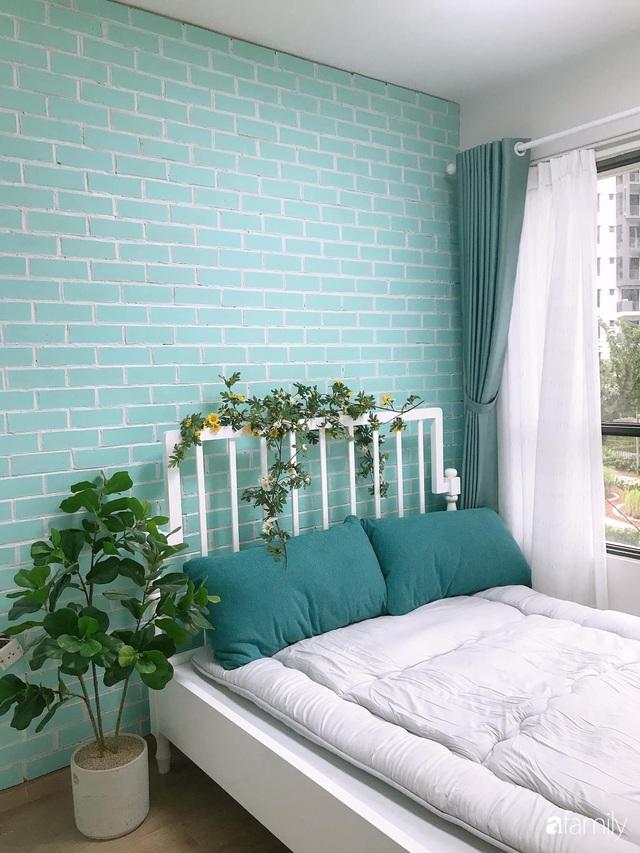 Căn hộ 71m² đẹp nhẹ nhàng, xinh yêu với màu xanh bạc hà có chi phí hoàn thiện 200 triệu đồng ở Sài Gòn - Ảnh 25.