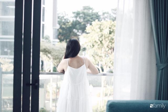 Căn hộ 71m² đẹp nhẹ nhàng, xinh yêu với màu xanh bạc hà có chi phí hoàn thiện 200 triệu đồng ở Sài Gòn - Ảnh 4.
