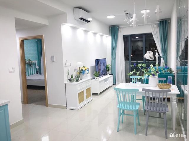 Căn hộ 71m² đẹp nhẹ nhàng, xinh yêu với màu xanh bạc hà có chi phí hoàn thiện 200 triệu đồng ở Sài Gòn - Ảnh 5.
