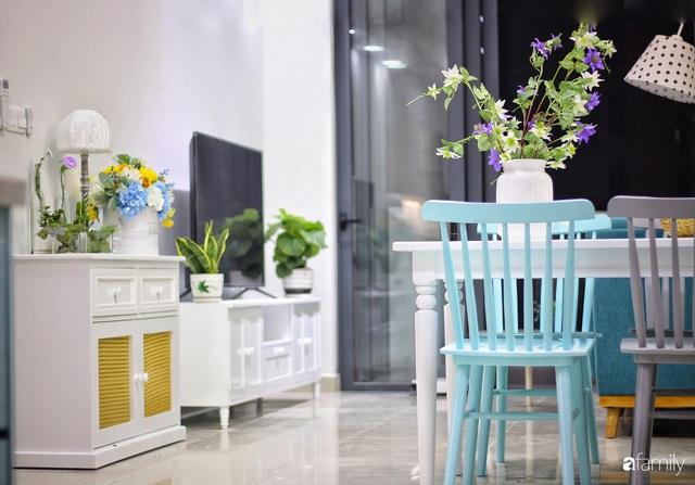 Căn hộ 71m² đẹp nhẹ nhàng, xinh yêu với màu xanh bạc hà có chi phí hoàn thiện 200 triệu đồng ở Sài Gòn - Ảnh 6.