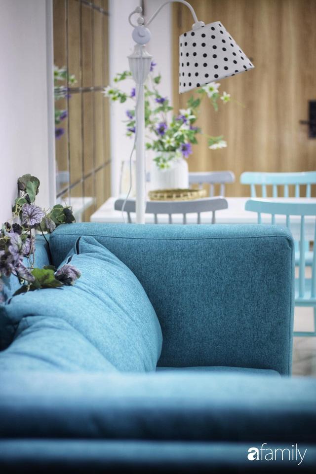 Căn hộ 71m² đẹp nhẹ nhàng, xinh yêu với màu xanh bạc hà có chi phí hoàn thiện 200 triệu đồng ở Sài Gòn - Ảnh 8.