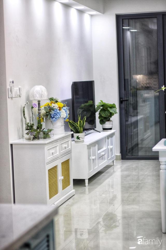 Căn hộ 71m² đẹp nhẹ nhàng, xinh yêu với màu xanh bạc hà có chi phí hoàn thiện 200 triệu đồng ở Sài Gòn - Ảnh 9.