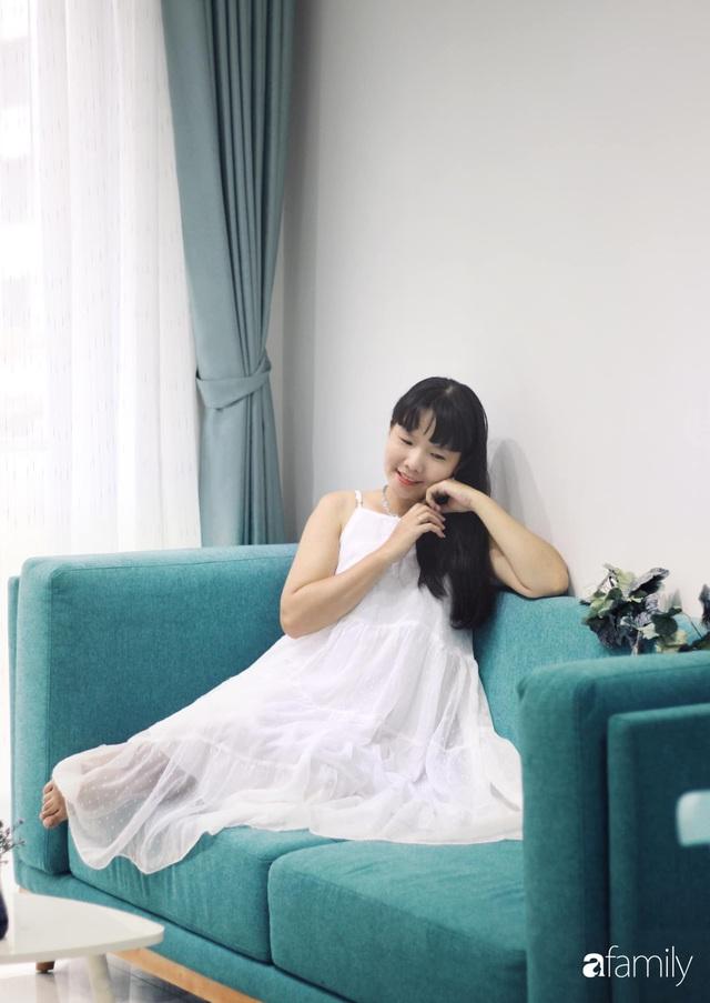 Căn hộ 71m² đẹp nhẹ nhàng, xinh yêu với màu xanh bạc hà có chi phí hoàn thiện 200 triệu đồng ở Sài Gòn - Ảnh 10.