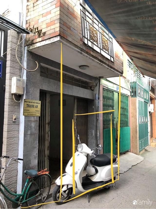 Cải tạo nhà phố 21m² trong ngõ nhỏ thành không gian xinh xắn, tiện nghi có chi phí hoàn thiện 700 triệu đồng ở Sài Gòn - Ảnh 1.