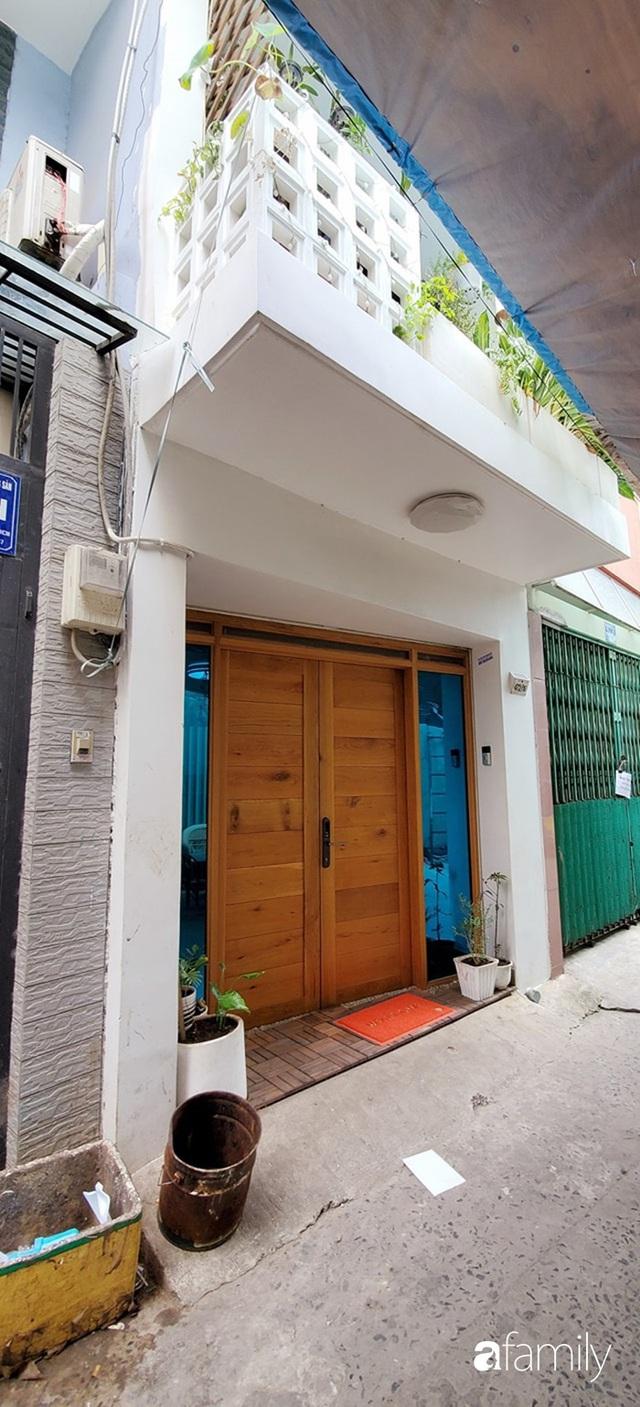 Cải tạo nhà phố 21m² trong ngõ nhỏ thành không gian xinh xắn, tiện nghi có chi phí hoàn thiện 700 triệu đồng ở Sài Gòn - Ảnh 2.