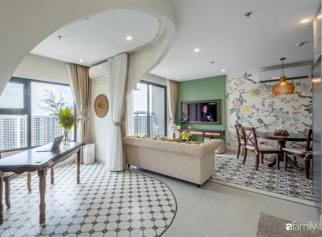 Căn hộ 74m² đẹp mê mẩn với từng góc nhỏ mang hơi thở Sài Gòn xưa ở thủ đô Hà Nội - Ảnh 5.