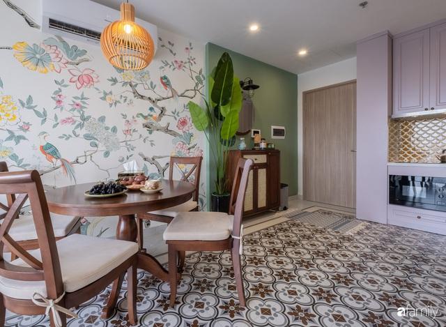 Căn hộ 74m² đẹp mê mẩn với từng góc nhỏ mang hơi thở Sài Gòn xưa ở thủ đô Hà Nội - Ảnh 7.