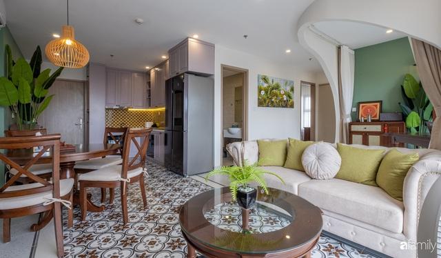 Căn hộ 74m² đẹp mê mẩn với từng góc nhỏ mang hơi thở Sài Gòn xưa ở thủ đô Hà Nội - Ảnh 8.