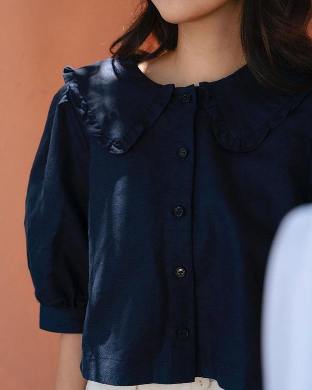 """6 kiểu áo blouse đáng sắm thu này, diện lên cô gái nào cũng có thêm vài phần """"chanh sả"""" - Ảnh 9."""