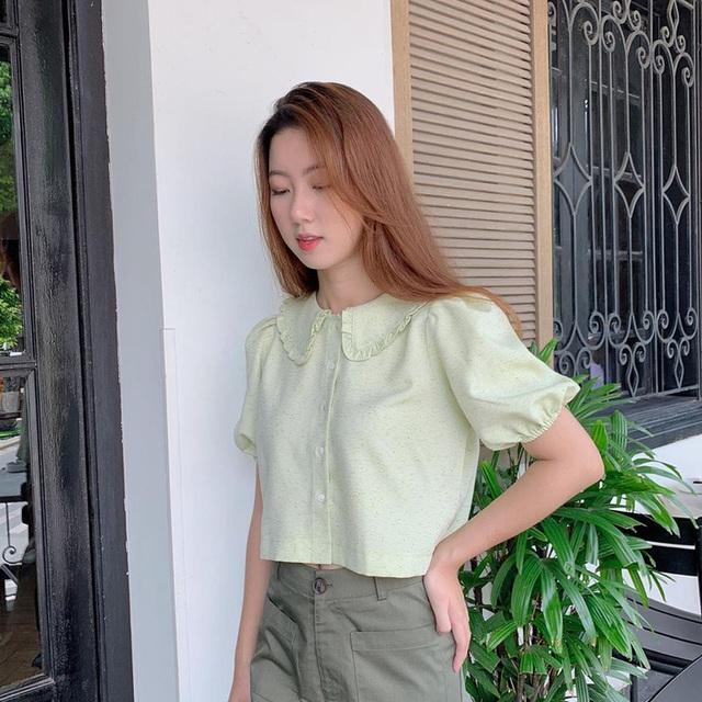 """6 kiểu áo blouse đáng sắm thu này, diện lên cô gái nào cũng có thêm vài phần """"chanh sả"""" - Ảnh 10."""