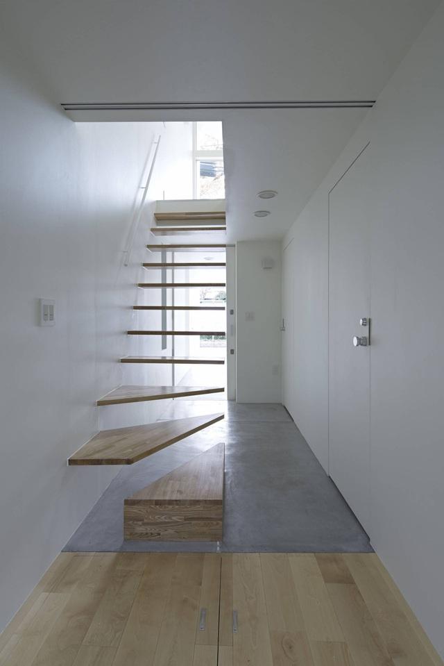 Căn nhà 27,6m² với thiết kế mái chéo độc đáo của vợ chồng trẻ ở thủ đô - Ảnh 10.