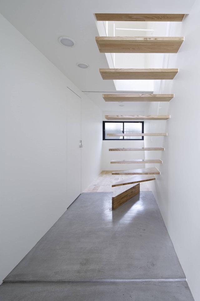 Căn nhà 27,6m² với thiết kế mái chéo độc đáo của vợ chồng trẻ ở thủ đô - Ảnh 11.