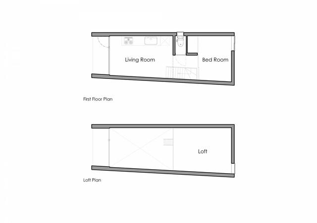 Căn nhà 27,6m² với thiết kế mái chéo độc đáo của vợ chồng trẻ ở thủ đô - Ảnh 12.