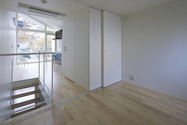 Căn nhà 27,6m² với thiết kế mái chéo độc đáo của vợ chồng trẻ ở thủ đô - Ảnh 5.