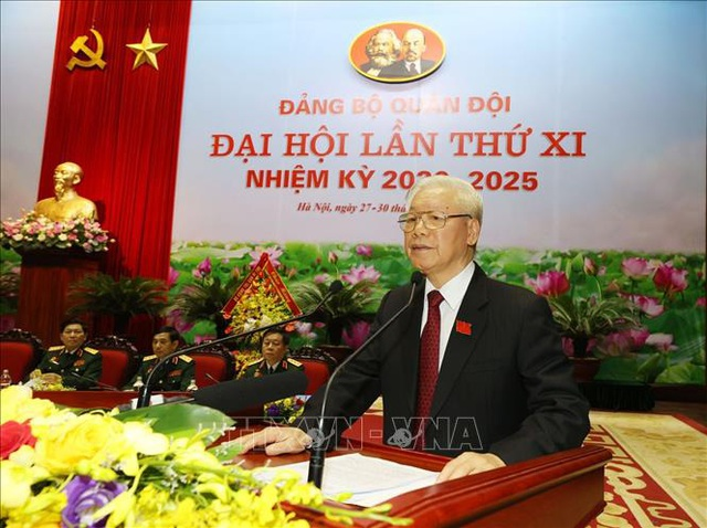 Toàn văn phát biểu của Tổng Bí thư, Chủ tịch nước tại Đại hội đại biểu Đảng bộ Quân đội  - Ảnh 1.