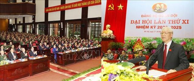 Toàn văn phát biểu của Tổng Bí thư, Chủ tịch nước tại Đại hội đại biểu Đảng bộ Quân đội  - Ảnh 2.