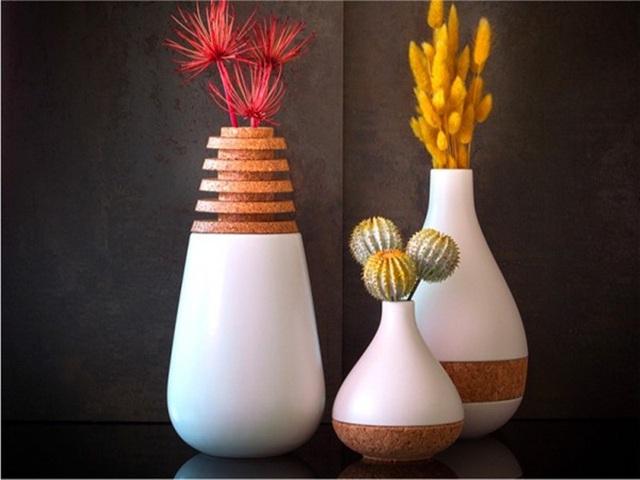 Những mẫu bình hoa độc đáo giúp làm đẹp ngôi nhà - Ảnh 14.
