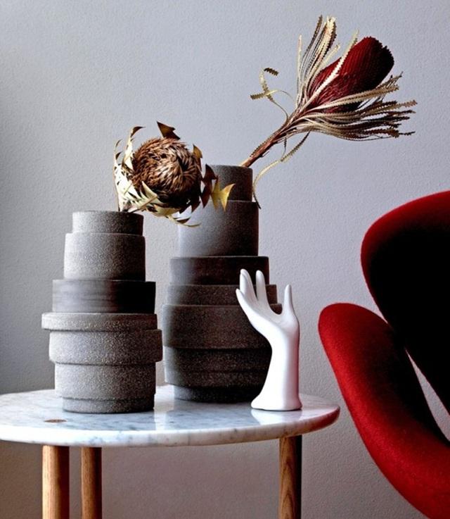 Những mẫu bình hoa độc đáo giúp làm đẹp ngôi nhà - Ảnh 21.