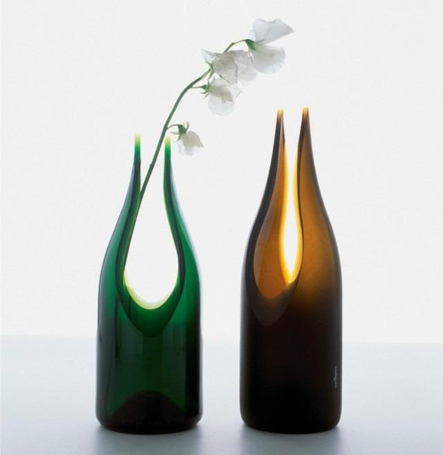 Những mẫu bình hoa độc đáo giúp làm đẹp ngôi nhà - Ảnh 4.