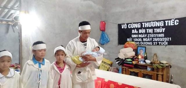Xót xa cảnh người đàn ông nuôi 4 con nhỏ nheo nóc, khát sữa khi vợ vừa qua đời vì ung thư - Ảnh 2.