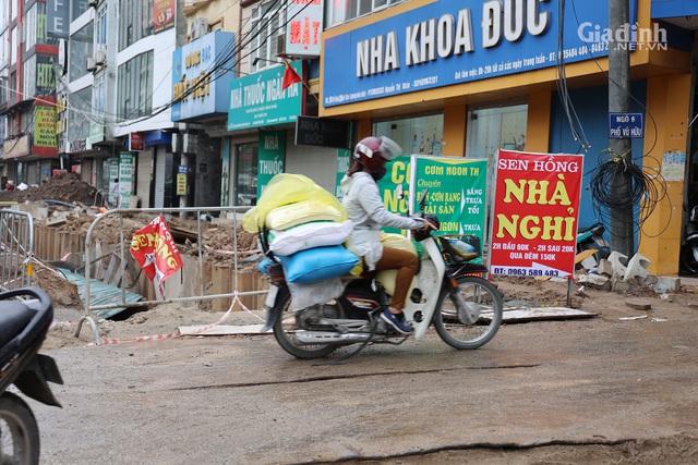 Toàn cảnh hầm chui gần 700 tỷ ở Hà Nội đang được tăng tốc thi công - Ảnh 8.
