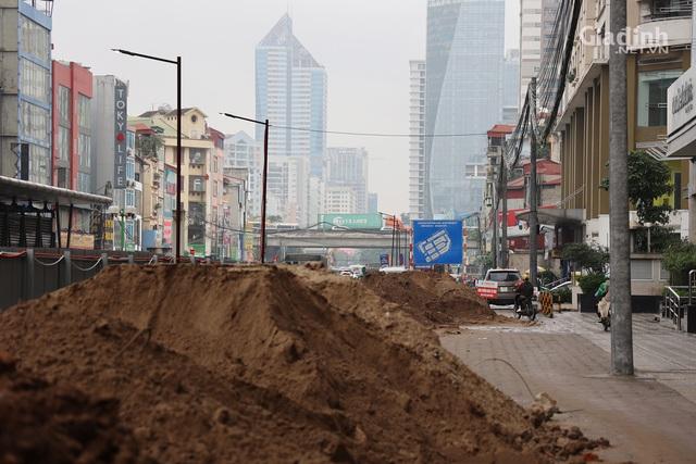 Toàn cảnh hầm chui gần 700 tỷ ở Hà Nội đang được tăng tốc thi công - Ảnh 6.