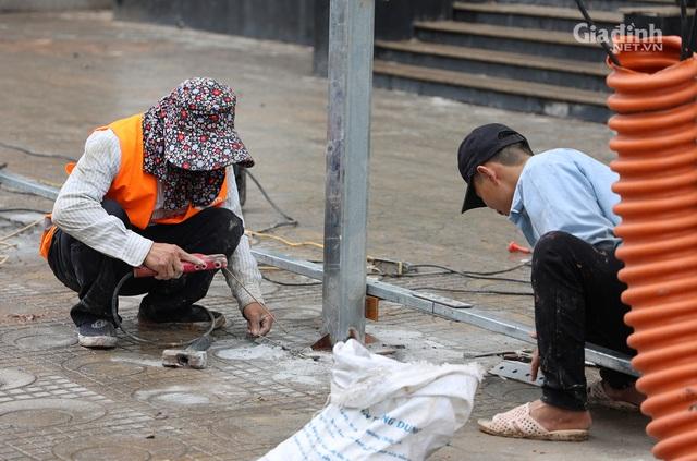 Toàn cảnh hầm chui gần 700 tỷ ở Hà Nội đang được tăng tốc thi công - Ảnh 9.