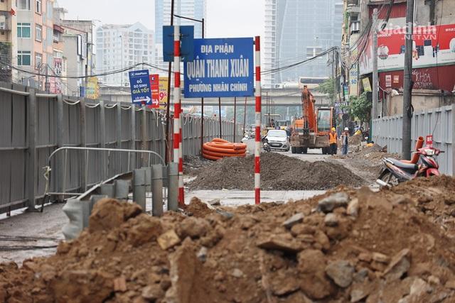 Toàn cảnh hầm chui gần 700 tỷ ở Hà Nội đang được tăng tốc thi công - Ảnh 2.