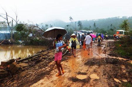 Bộ Y tế không để dịch bệnh xảy ra ở Nam Trung Bộ sau bão số 15 1