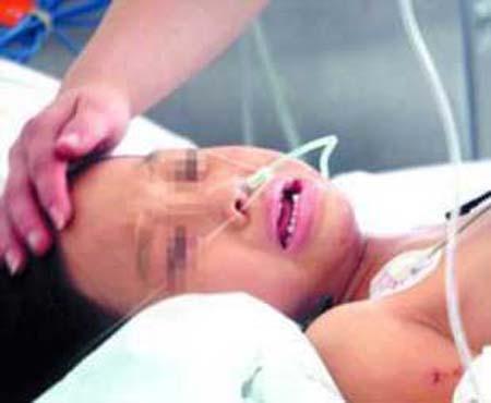 Bé gái 11 tuổi nguy kịch sau khi sinh con 1