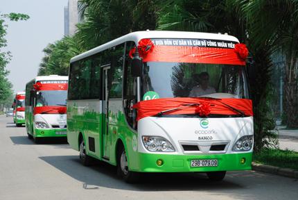 Cư dân Ecopark có xe bus miễn phí chất lượng cao 1